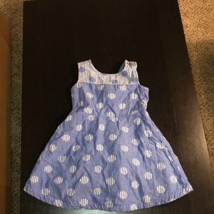 Casual blue dress size 4T
